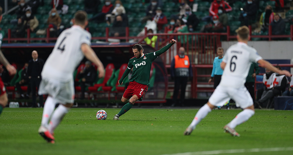 A show without a happy ending. Lokomotiv loses to Bayern