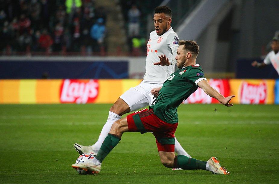 «Локомотив» - «Бавария» - 1:2
