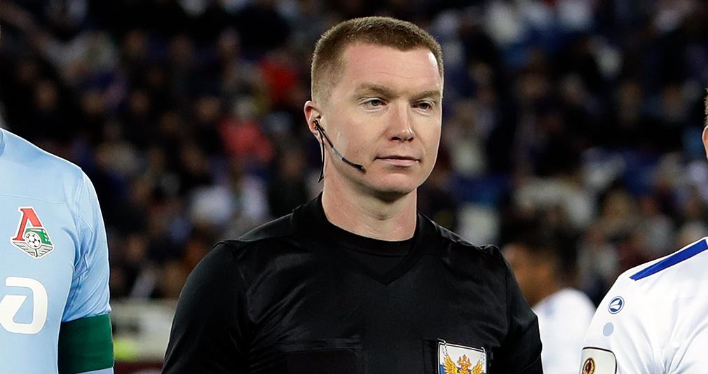 Васильев назначен на матч с «Сочи»