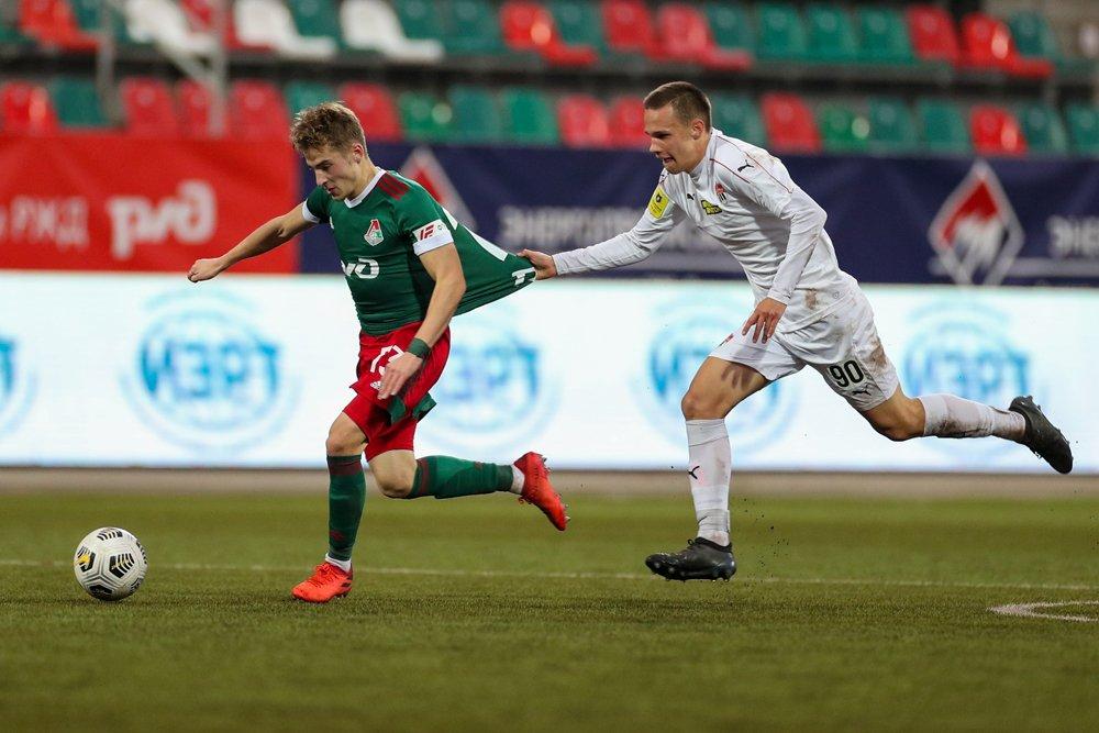 «Локомотив» (мол) – «Химки» (мол) – 1:0