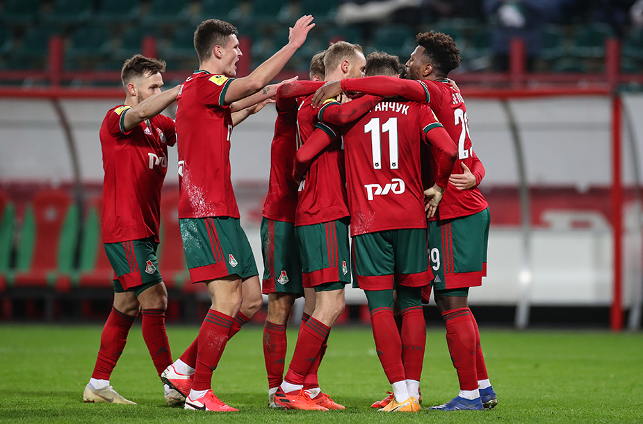 «Локомотив» - «Арсенал» - 1:0