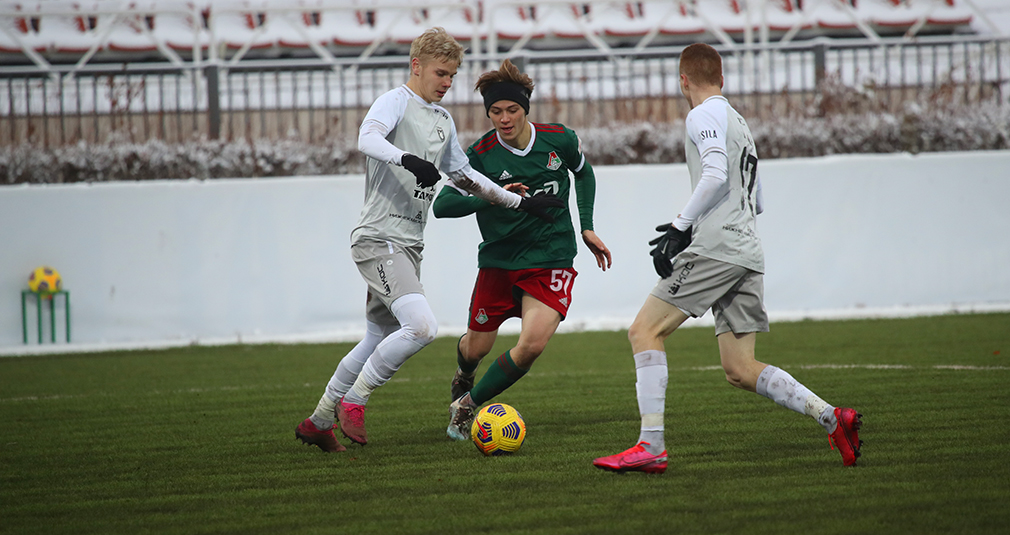 The youth team got a draw against Rubin