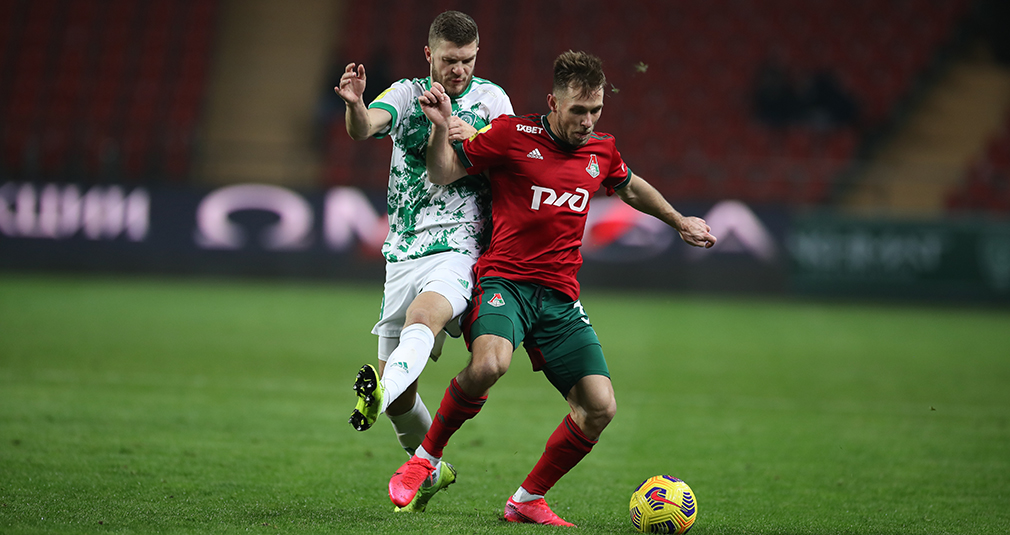 Lokomotiv shared points with Akhmat