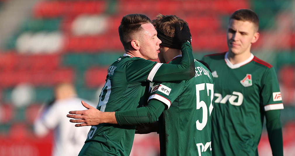 The youth team defeated Ufa