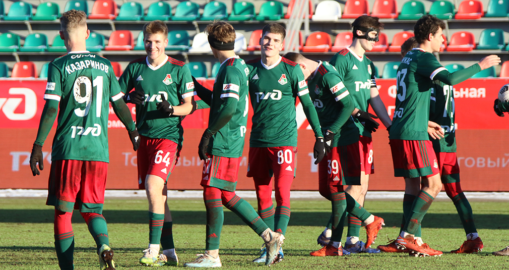 The youth team scored six goals against Konoplev Academy