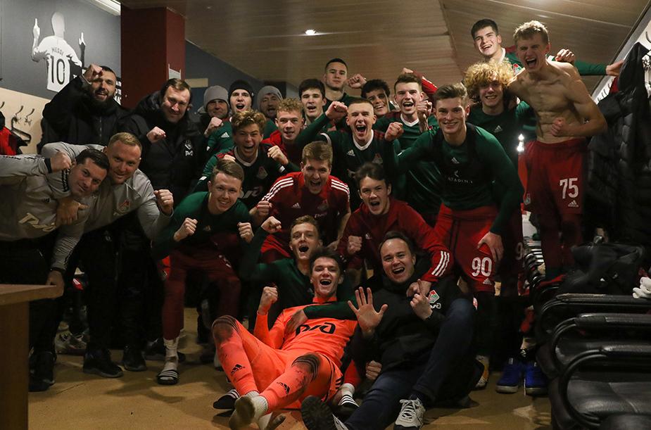 «Локомотив» (мол) – Академия Коноплева – 6:0