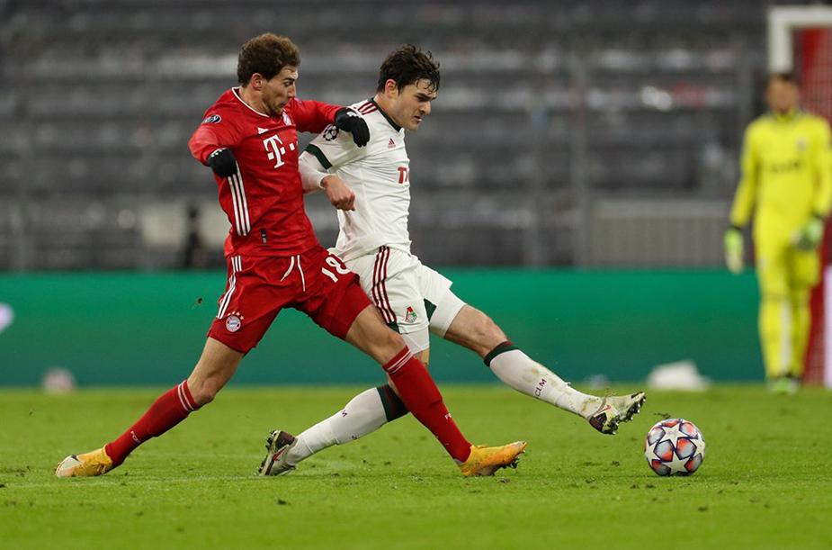 Bayern - Lokomotiv - 2:0