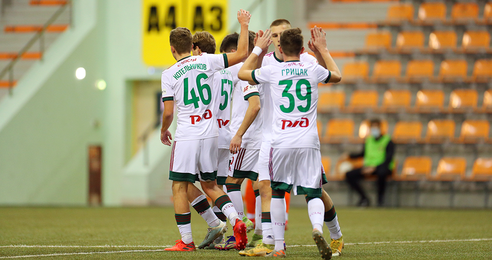 The youth team ends the year on a high note with a big win against Ural