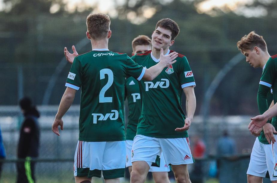 «Локомотив» (мол) – Сборная свободных агентов – 2:0