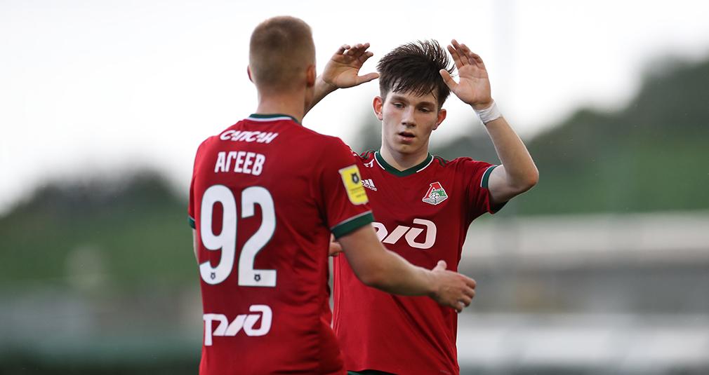 «Локомотив» победил «Краснодар-2». У Иосифова гол и две передачи