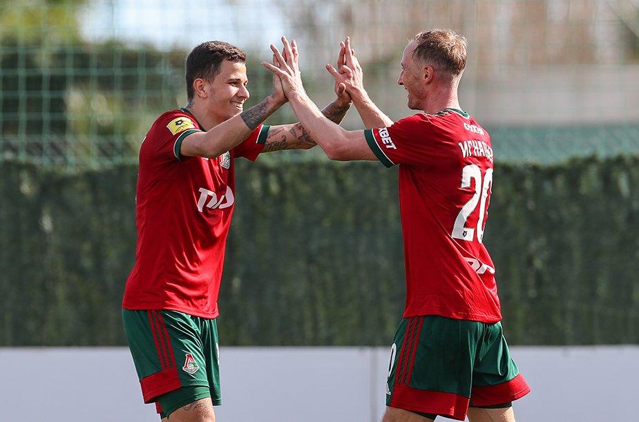 Lokomotiv - Krasnodar - 4:0. Highlights