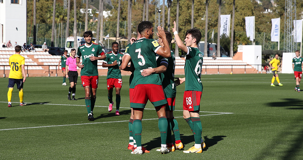 Lokomotiv have finished the training camp with a win over Rostov