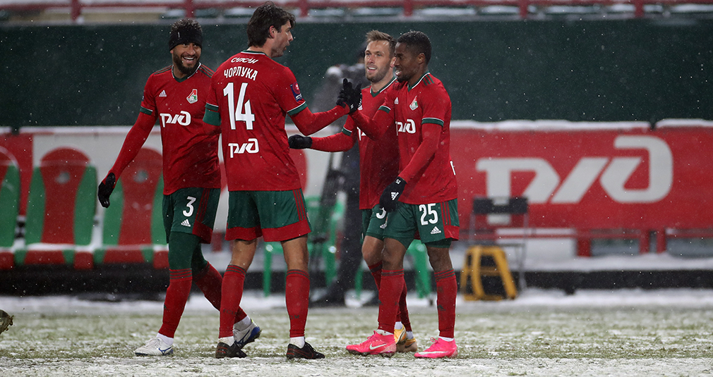 Lokomotiv is through to the quarter-finals of the Russian Cup