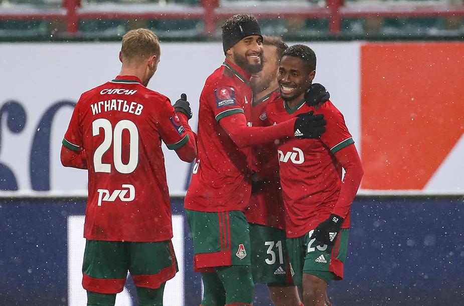 «Локомотив» - «Тамбов» - 3:0