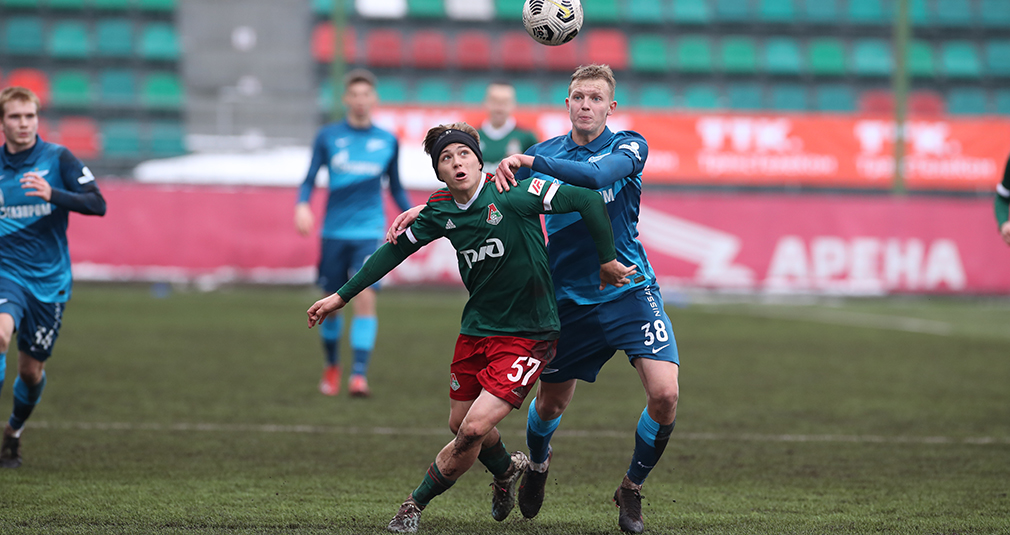The youth team shared points with Zenit
