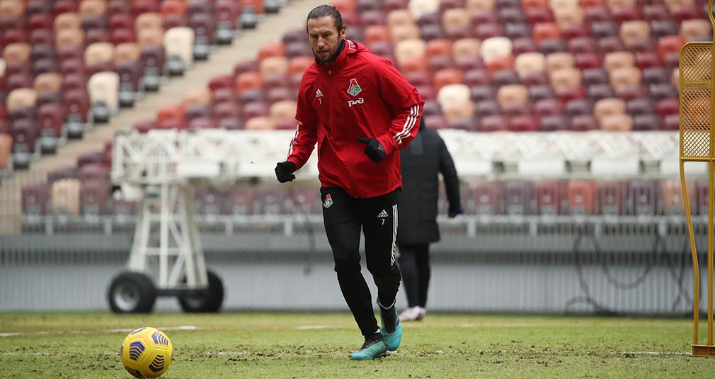 «Локомотив» готовится к матчу с «Арсеналом»