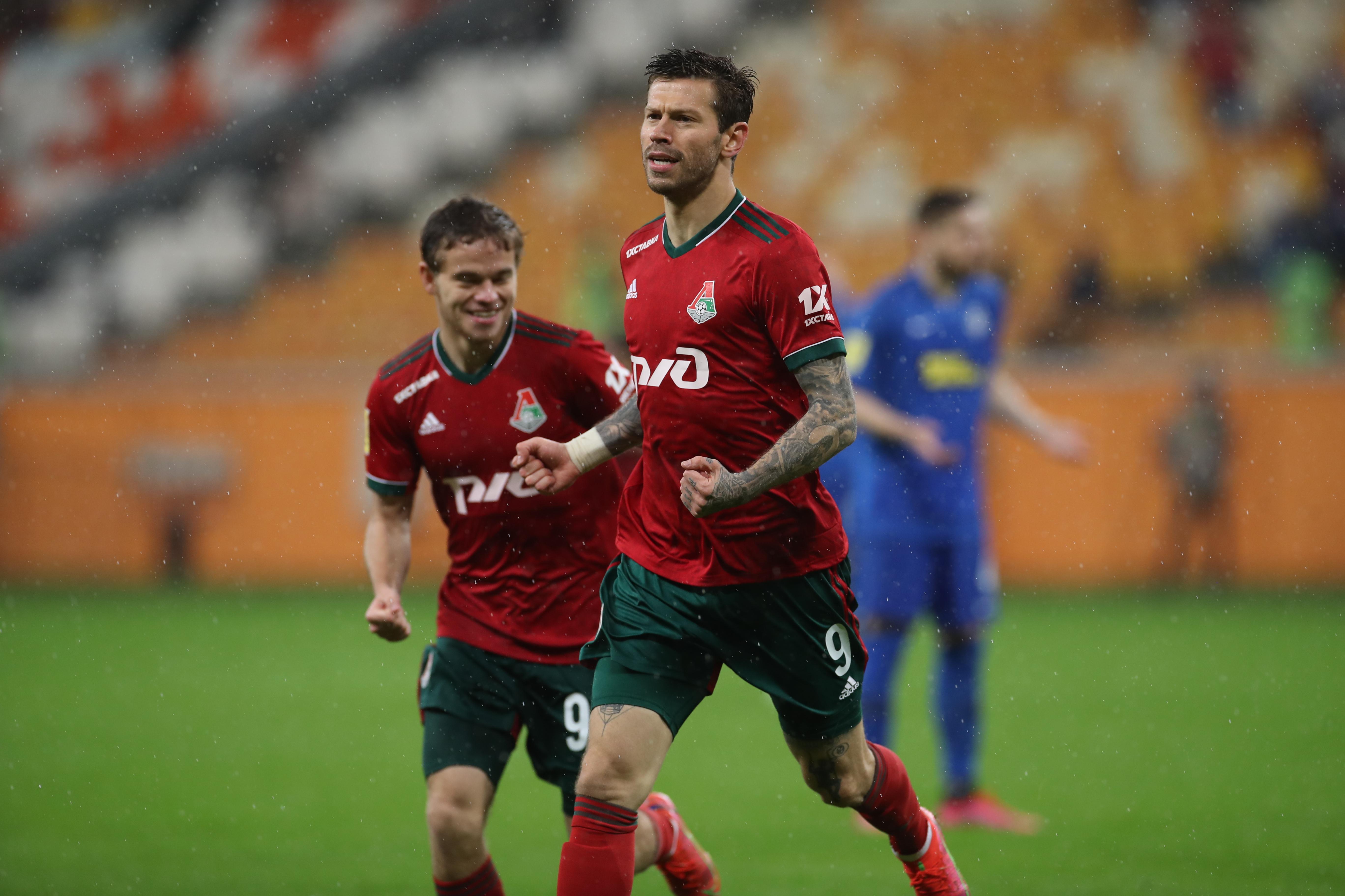 «Тамбов» – «Локомотив» – 2:5