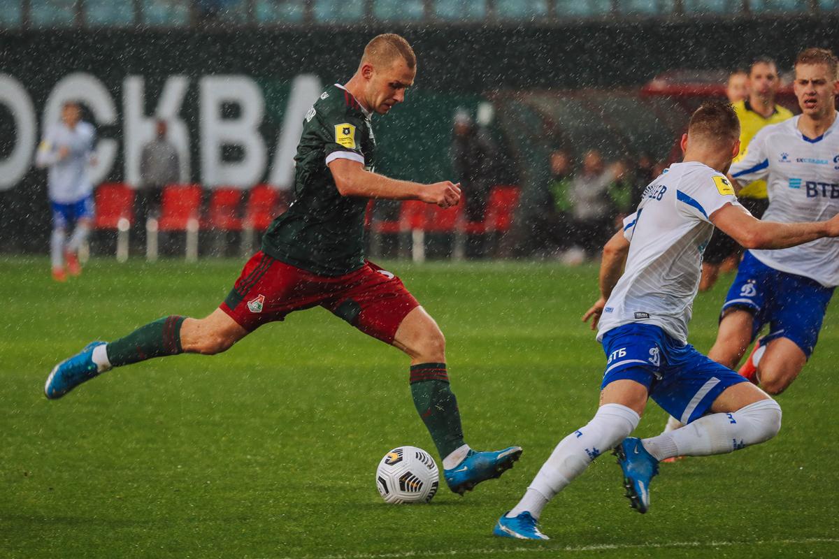 «Локомотив» – «Динамо» – 0:0