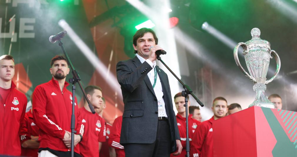 Обращение Владимира Леонченко к болельщикам