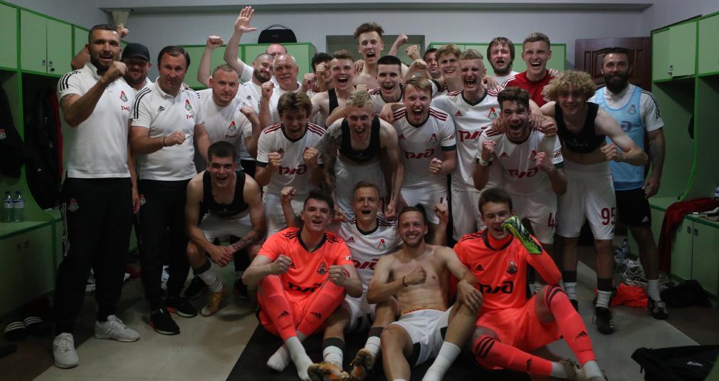 Молодёжка завершила сезон победой в Грозном