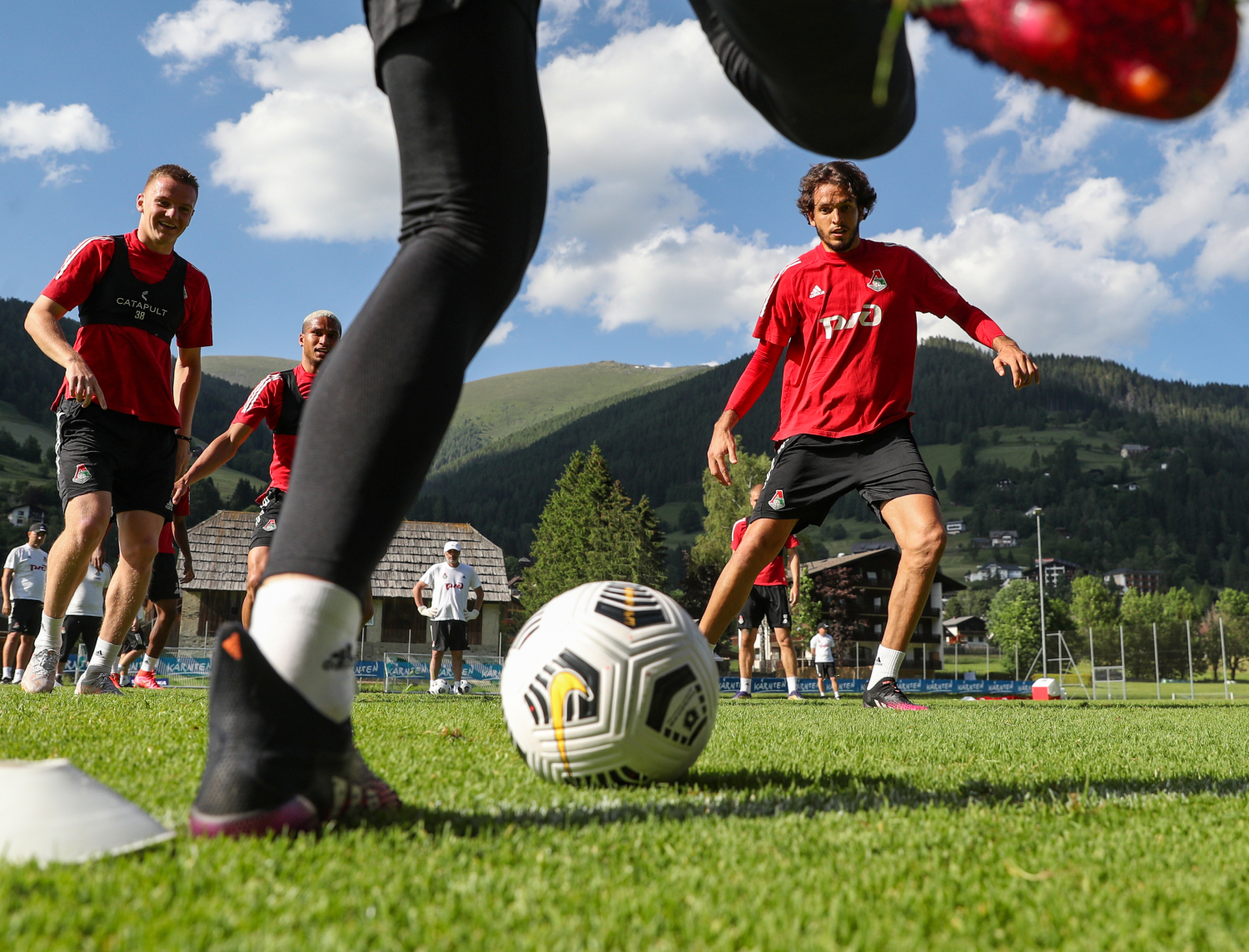 The ninth day of training camp in Austria.