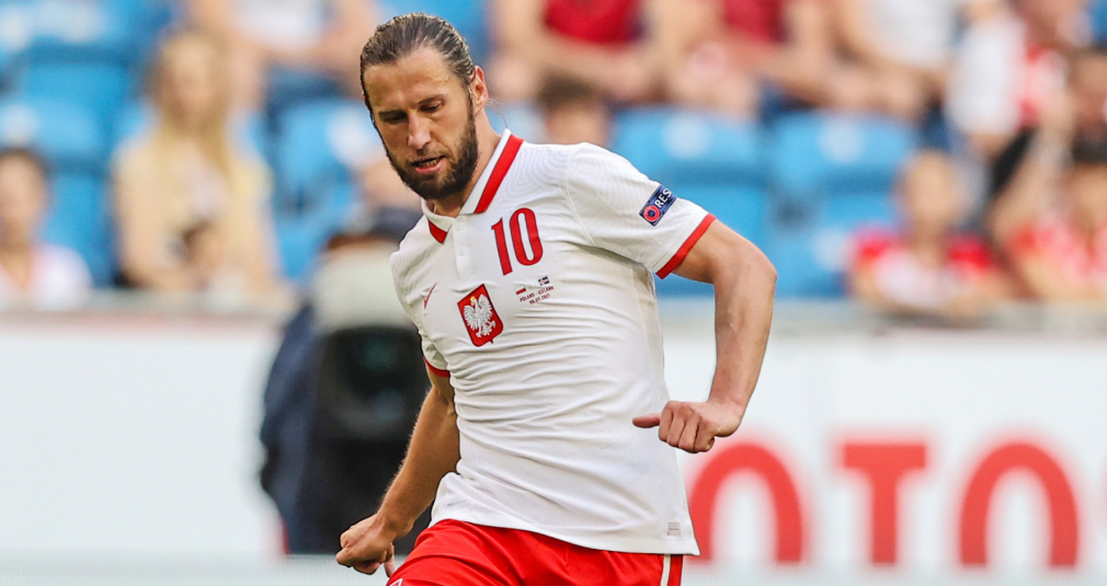 Krychowiak played for the Polish national team