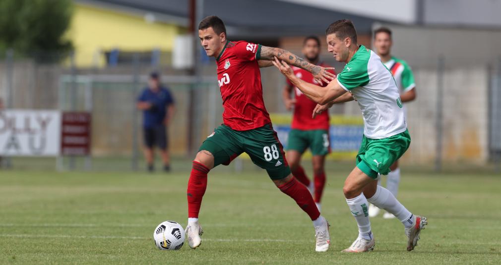 «Локомотив» сыграл вничью с «Рапидом». Репортаж
