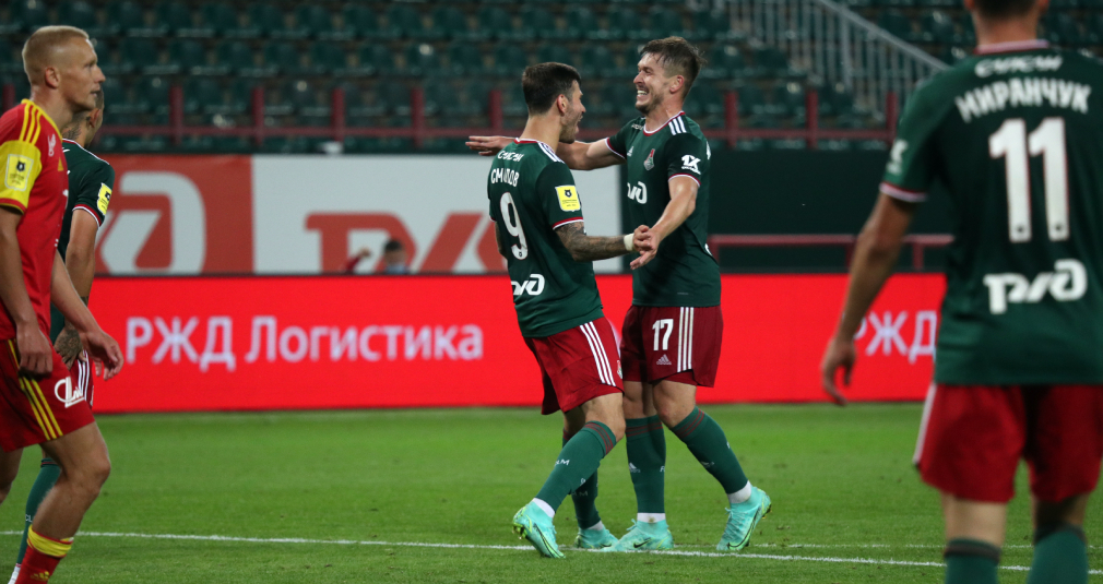 «Локомотив» – «Арсенал» – 3:1. Репортаж