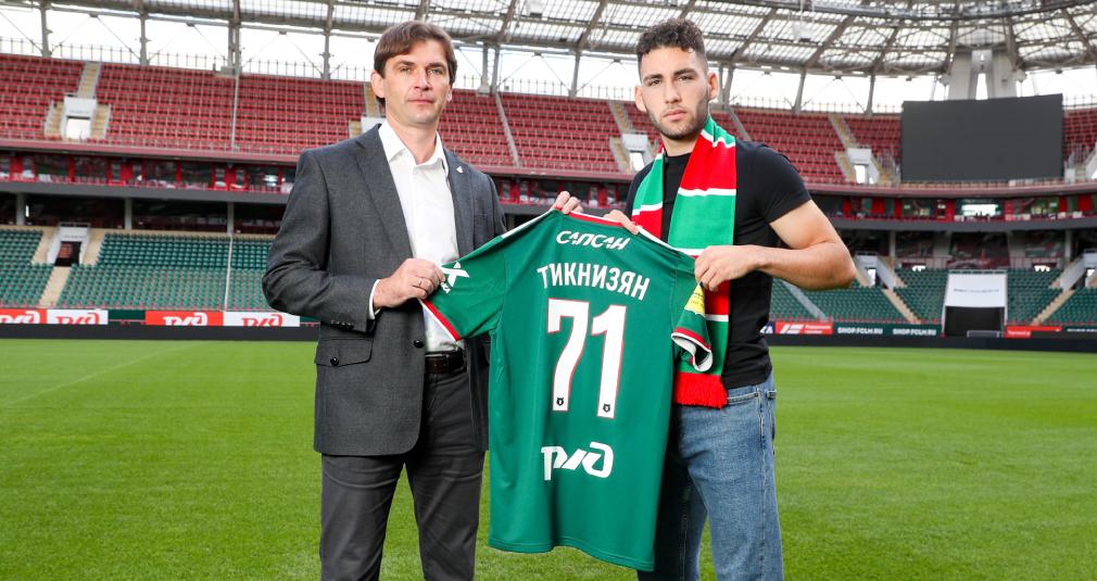 Lokomotiv signs Nair Tiknizyan
