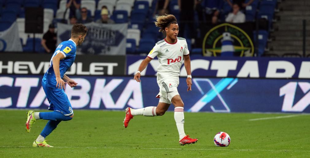 Beka Beka and Nenakhov made their debuts for Lokomotiv