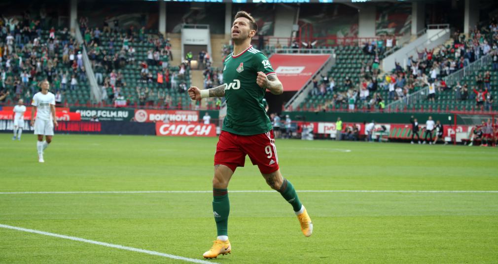 Фёдор Смолов – лучший игрок РПЛ в июле и августе!