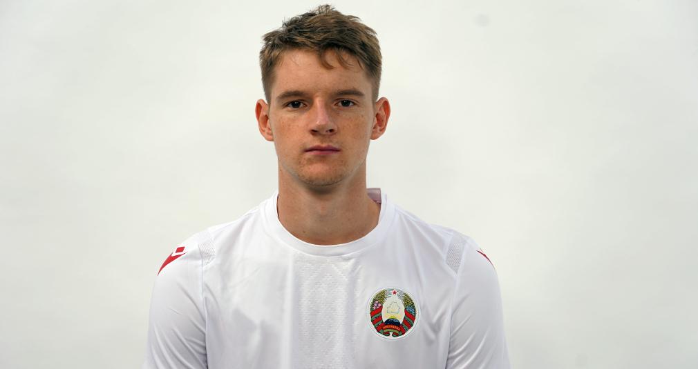 Зинович сыграл за молодёжную сборную Беларуси