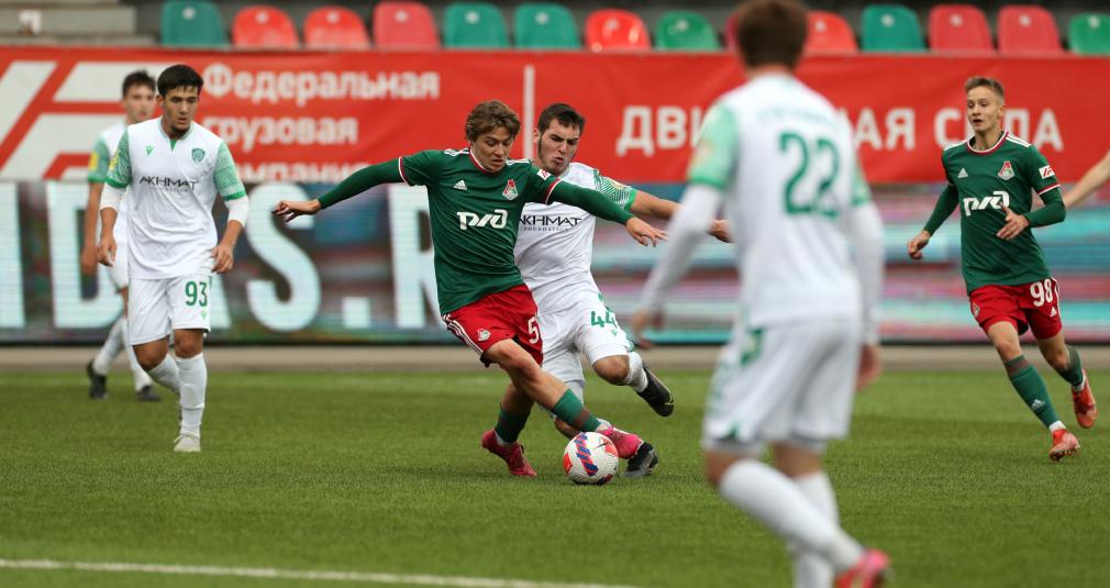 Молодёжка обыграла «Ахмат», одержав третью победу подряд в М-Лиге